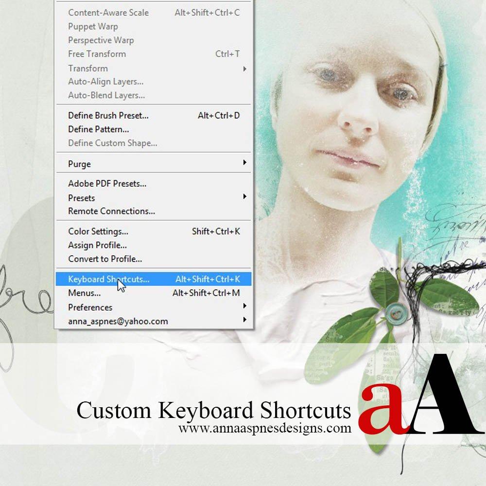 Create Custom Shortcuts in Adobe Photoshop