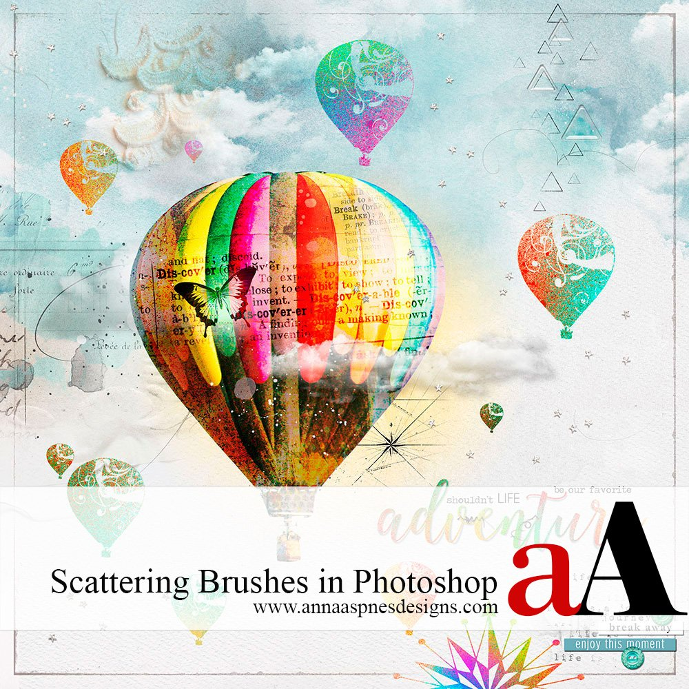 Tutorial | Scattering Brushes in Photoshop