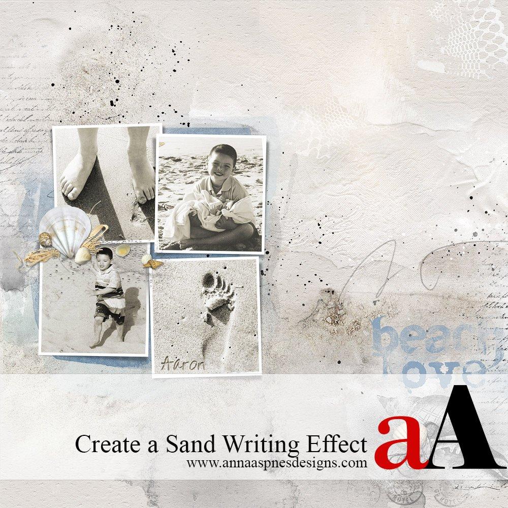 Tutorial | Create a Sand Writing Effect
