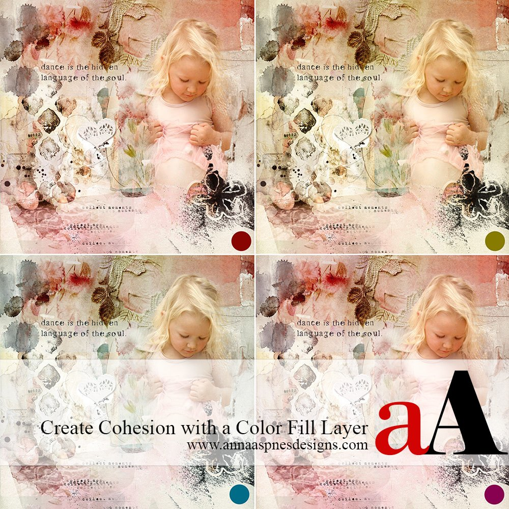 Tutorial | Create Cohesion with a Color Fill Layer