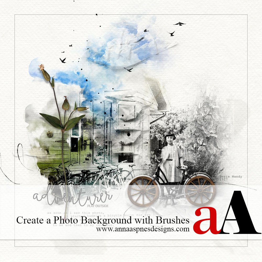 Tutorial   Create a Photo Background with Brushes