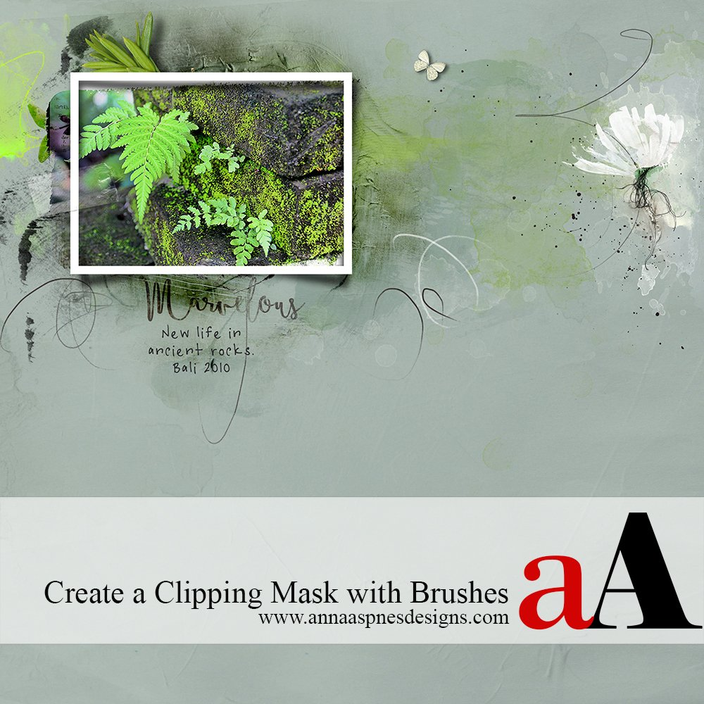 Tutorial | Create a Clipping Mask with Brushes