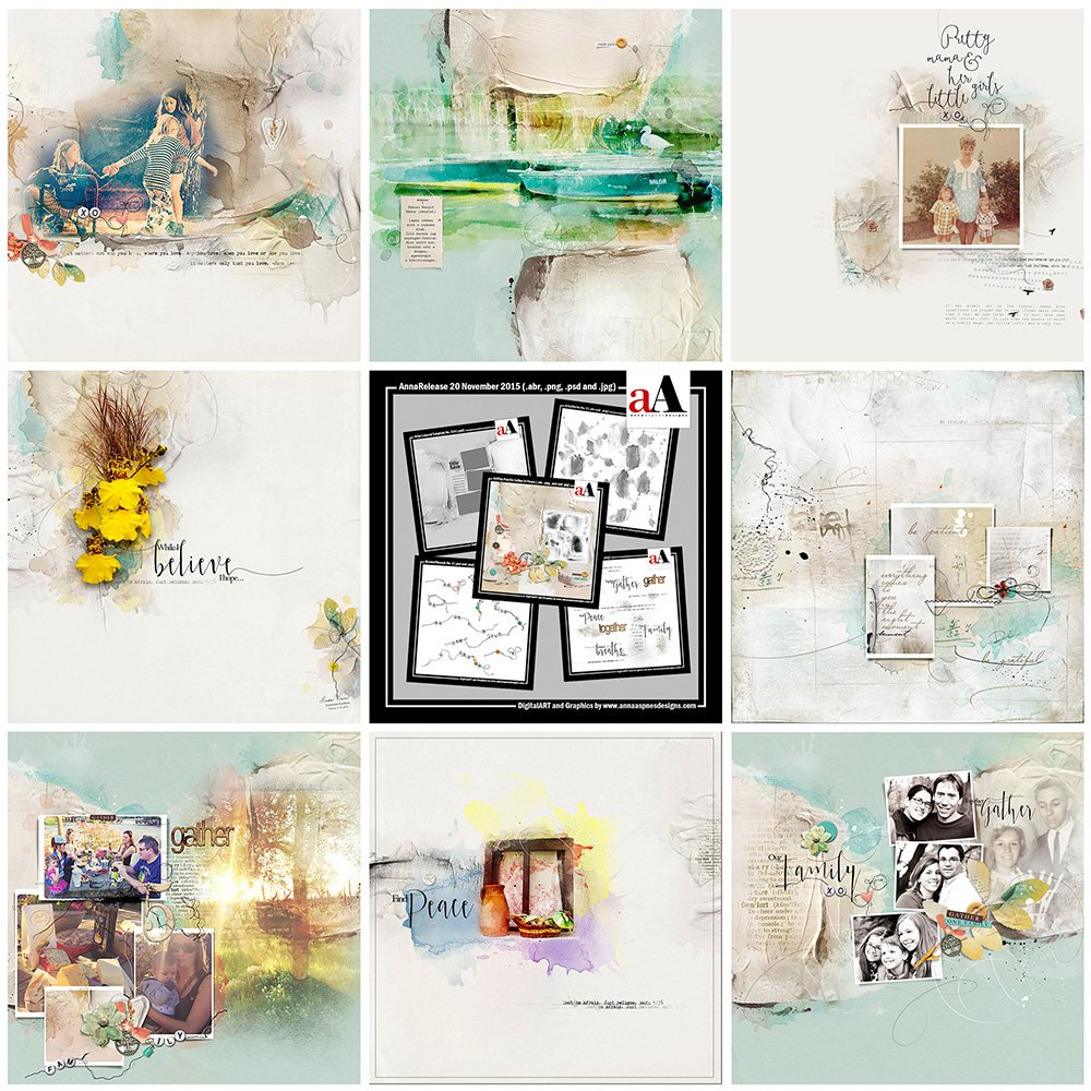 ArtsyInspiration | AnnaRelease *Gather in Peace*