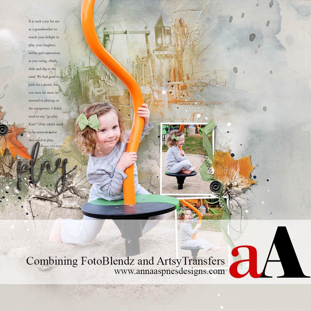 Video | Combining FotoBlendz and ArtsyTransfers