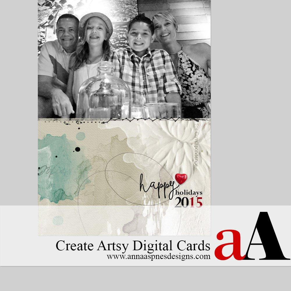 Artsy Christmas Cards