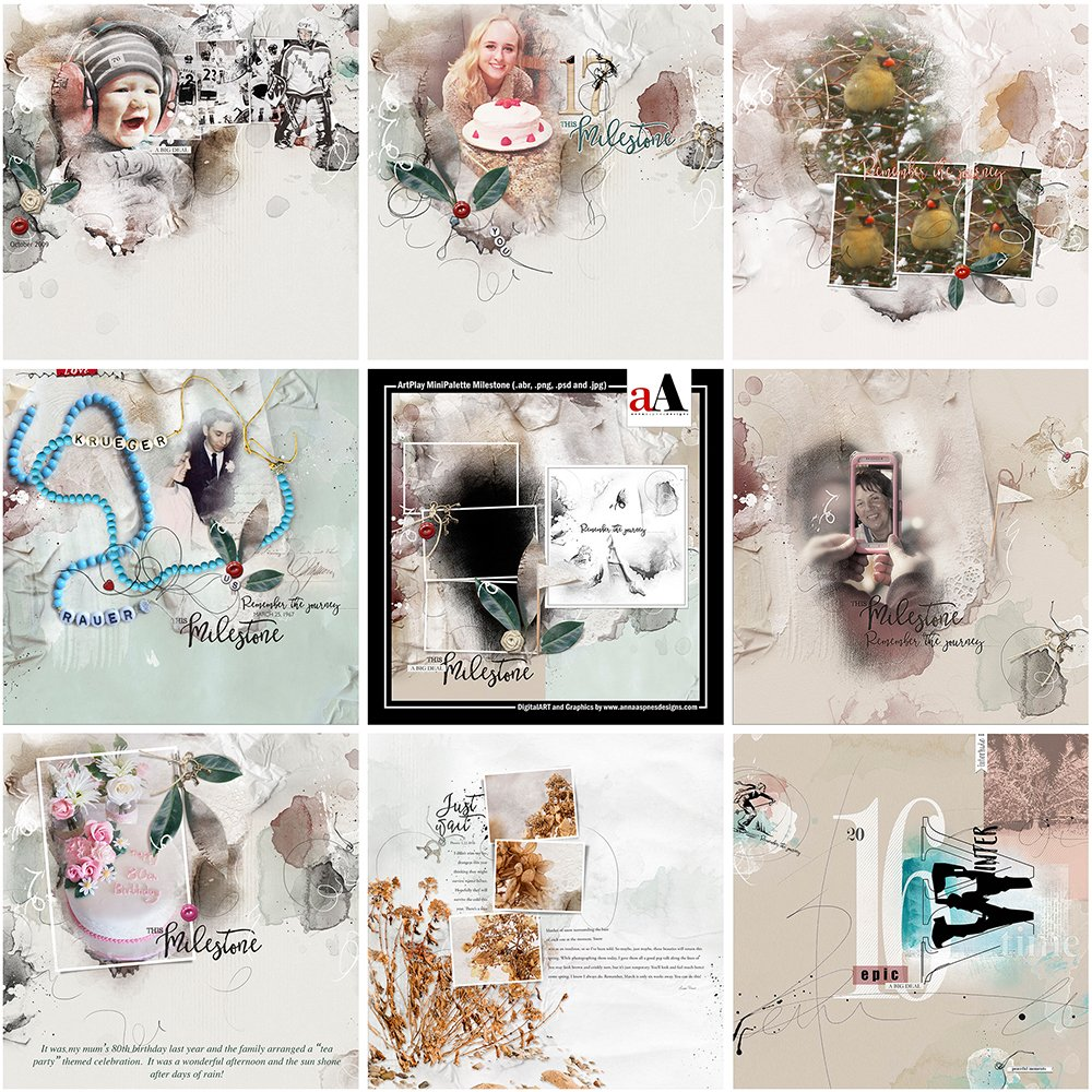 ArtsyInspiration | ArtPlay MiniPalette Milestone