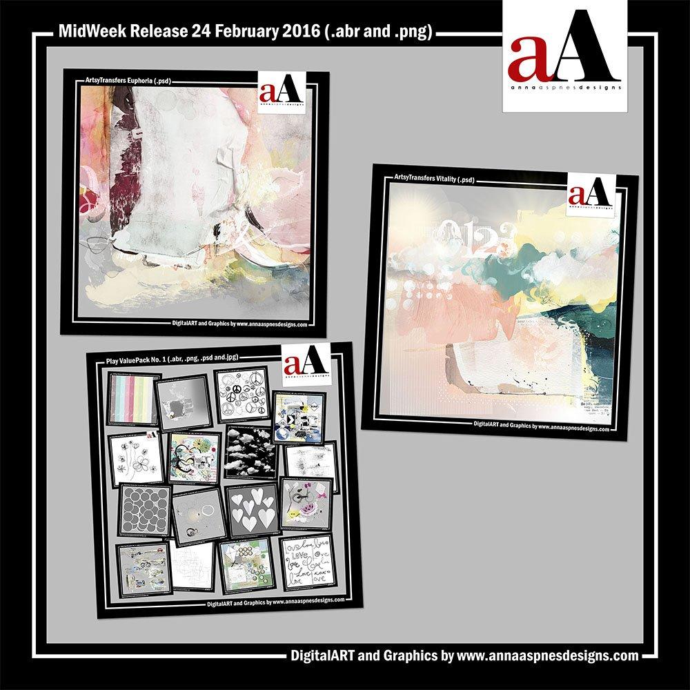New Artsy Digital Designs