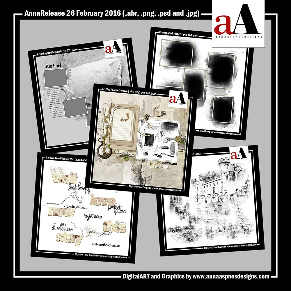 New Artsy Digital Designs Sojourn