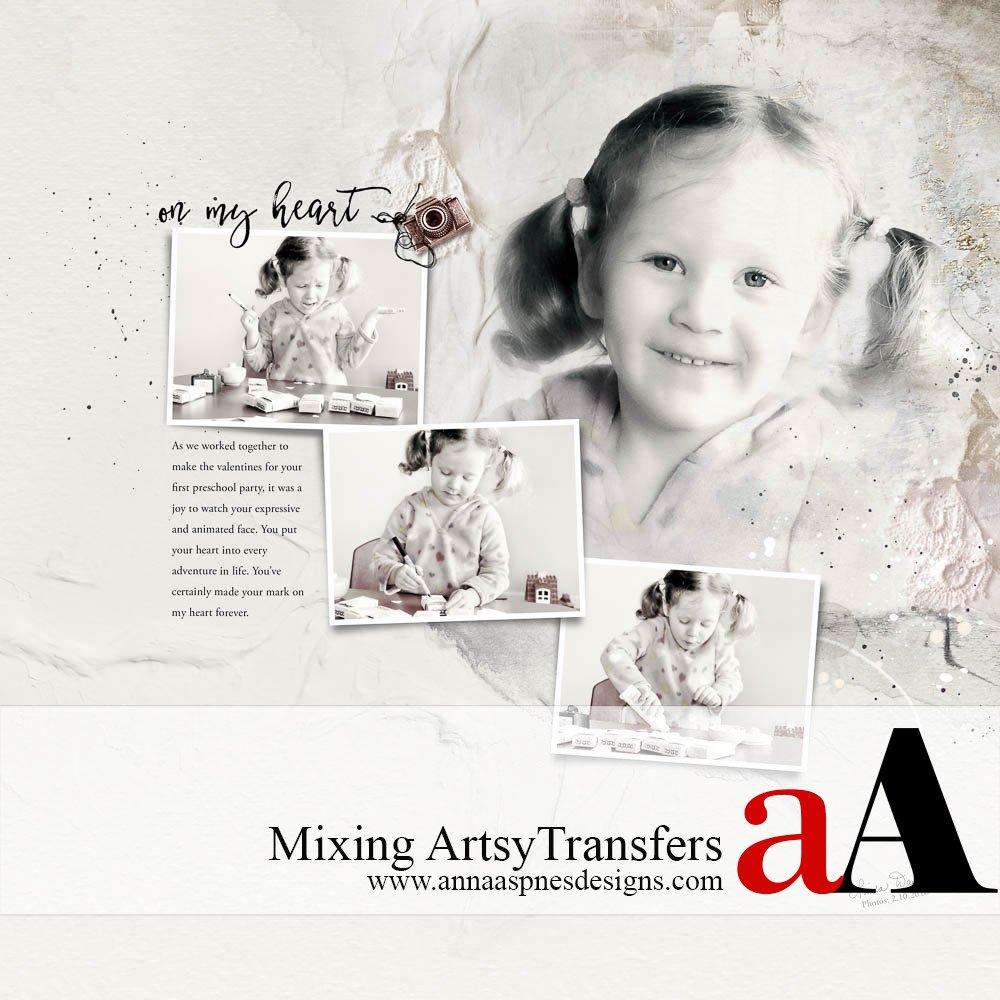 ArtsyTransfers Adobe Photoshop Video Tutorial