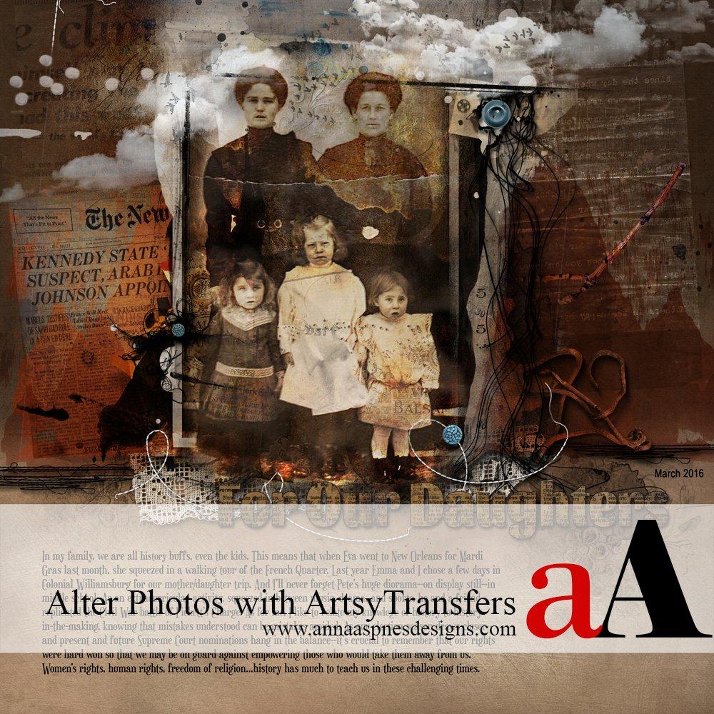 Edit Photos with ArtsyTransfers Tutorial
