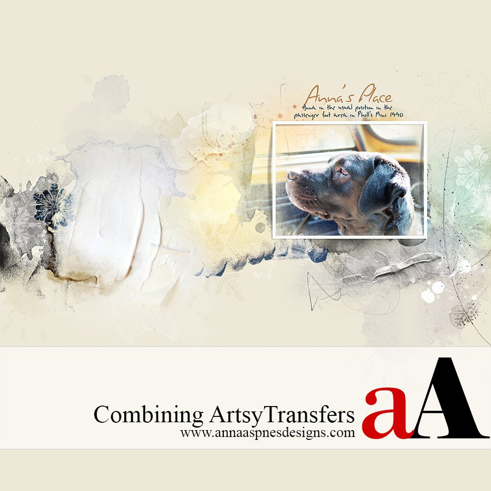 Blending ArtsyTransfers in Adobe Photoshop (Video Tutorial)