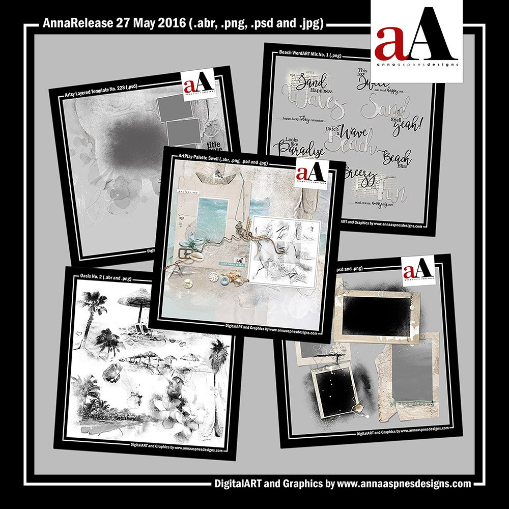 New Artsy Digital Designs Swell