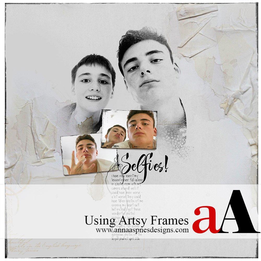 Artsy Frames Inspiration