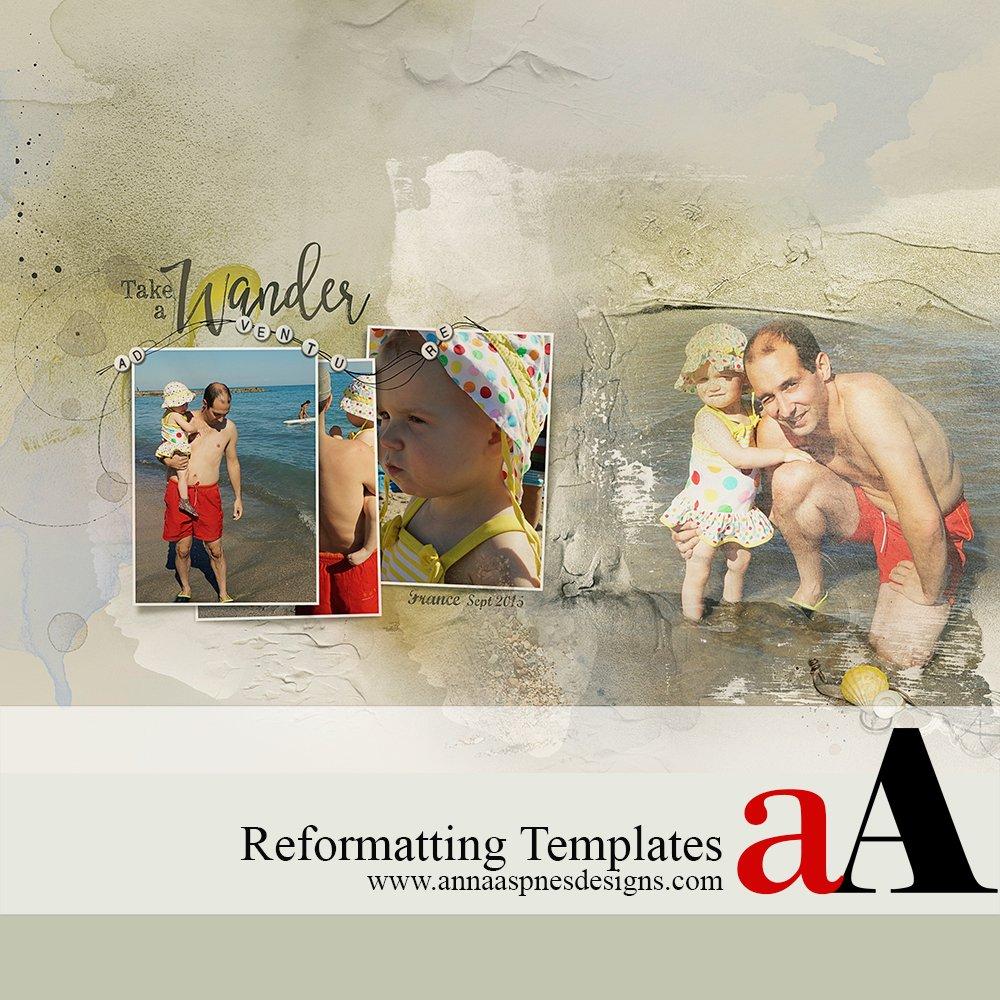 Reformatting Templates