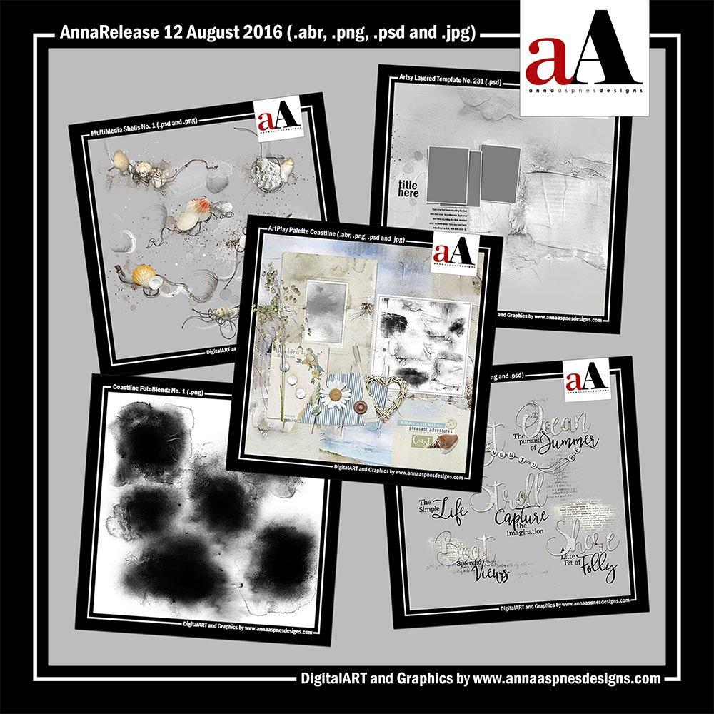 New Artsy Digital Designs Coastline