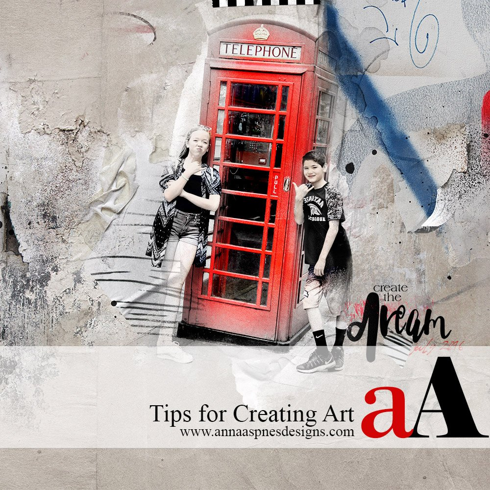 Tips for Creating Art