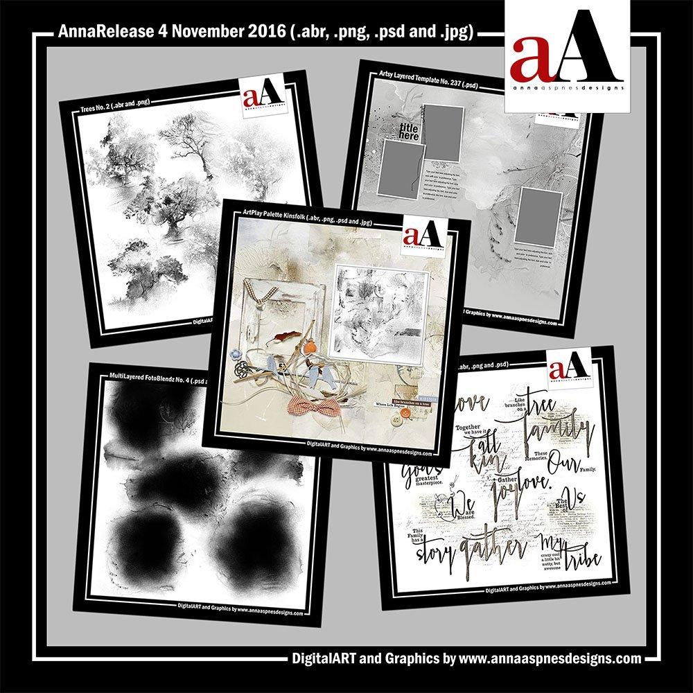 New Artsy Digital Designs Kinsfolk