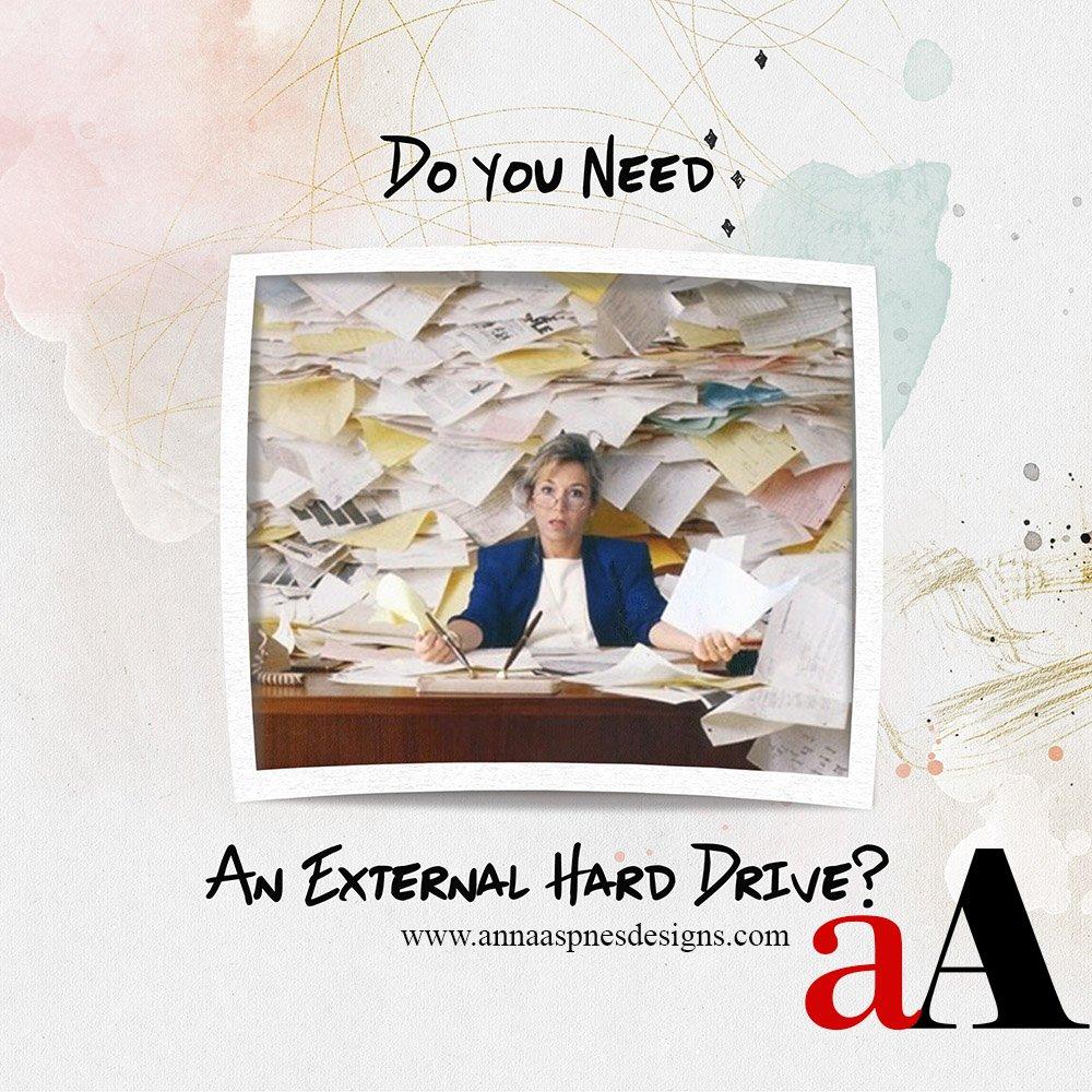 External Hard Drives for Digital Scrapbooking