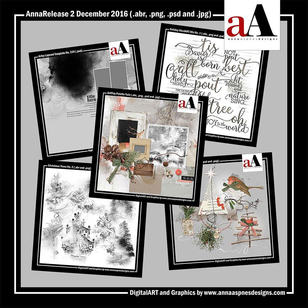 New Artsy Digital Designs Yule