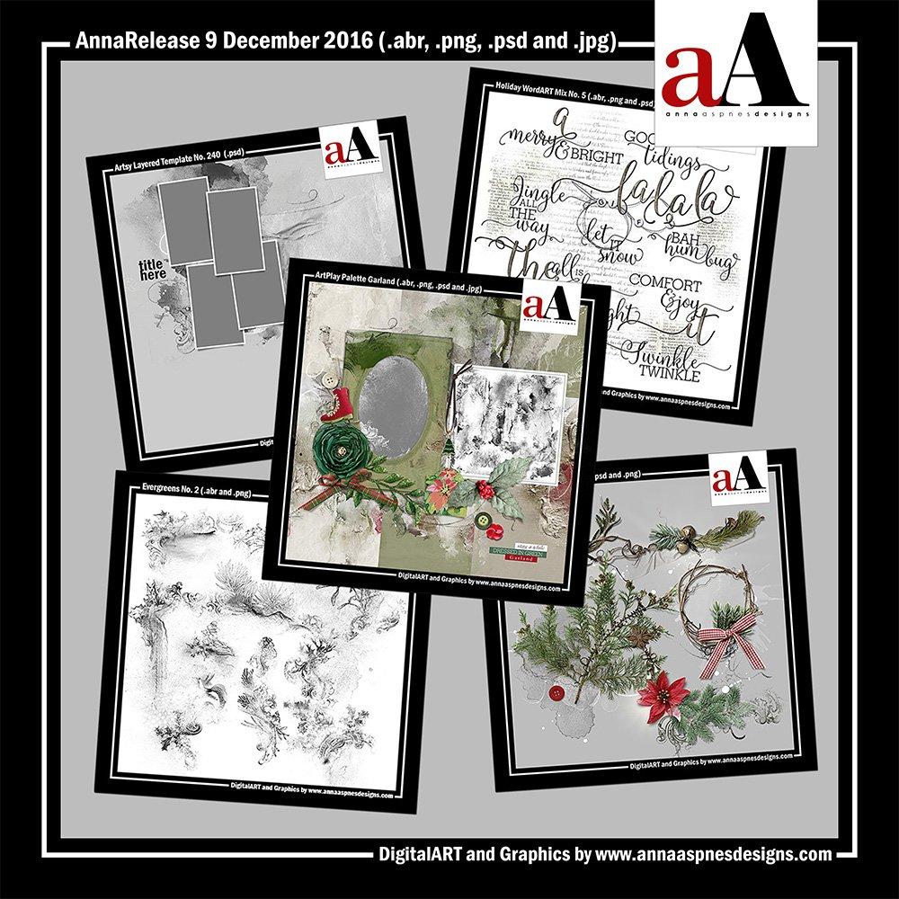 New Artsy Digital Designs Garland