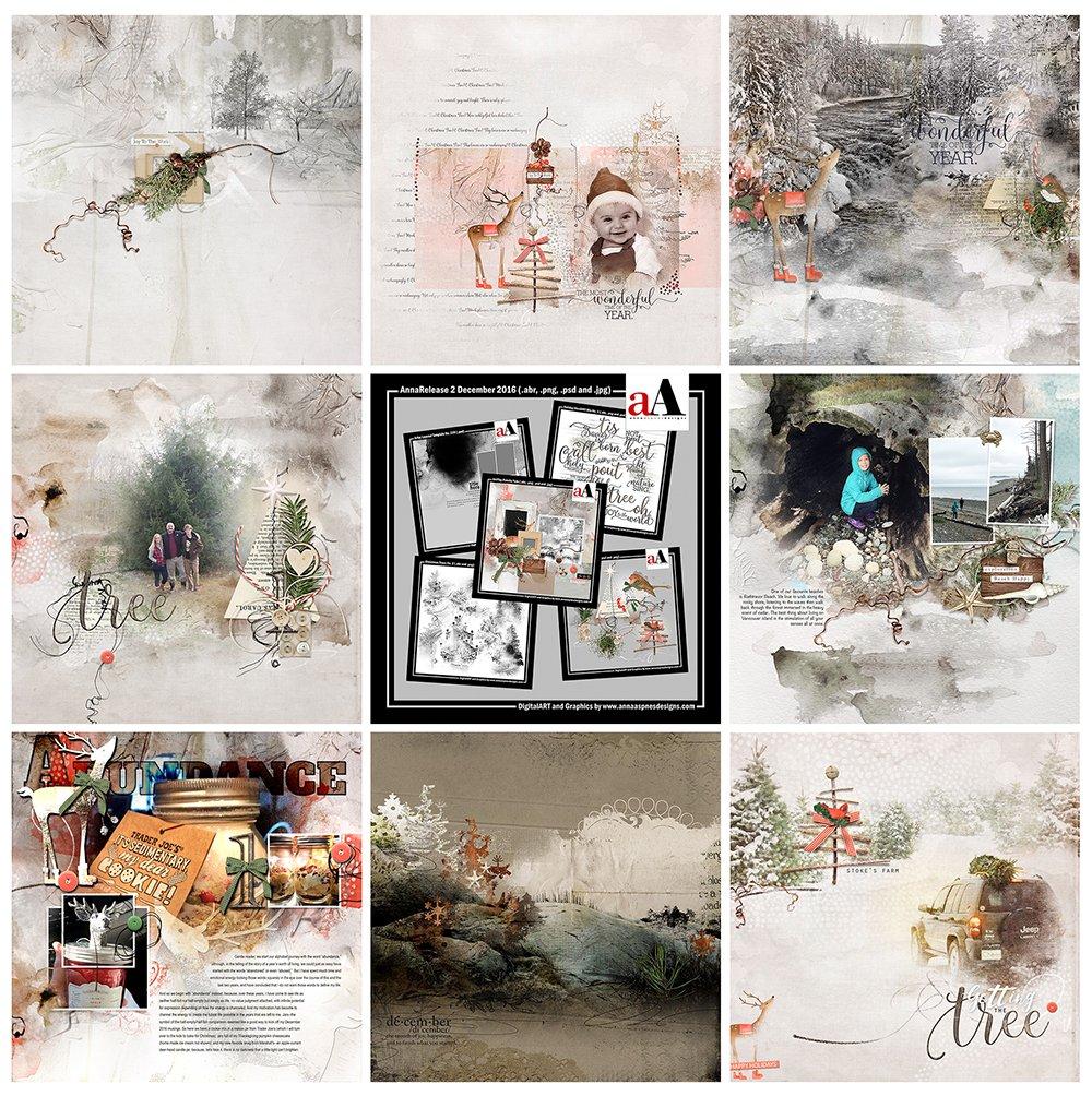 Digital Designs Inspiration Yule