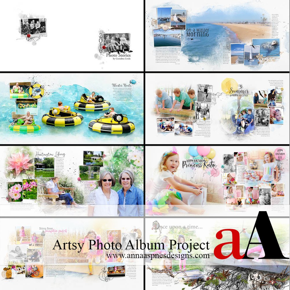 Artsy Photo Album Project