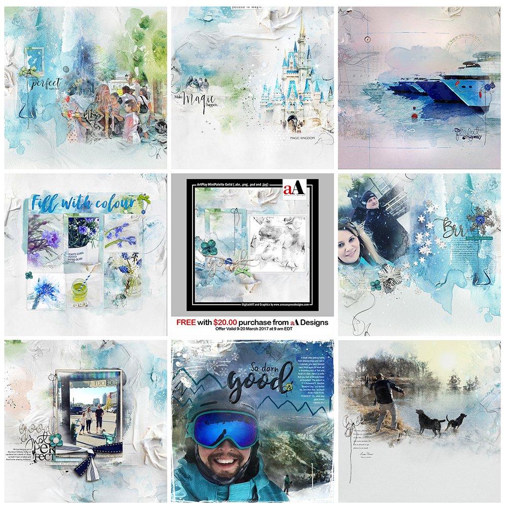 Digital Designs Inspiration Gelid