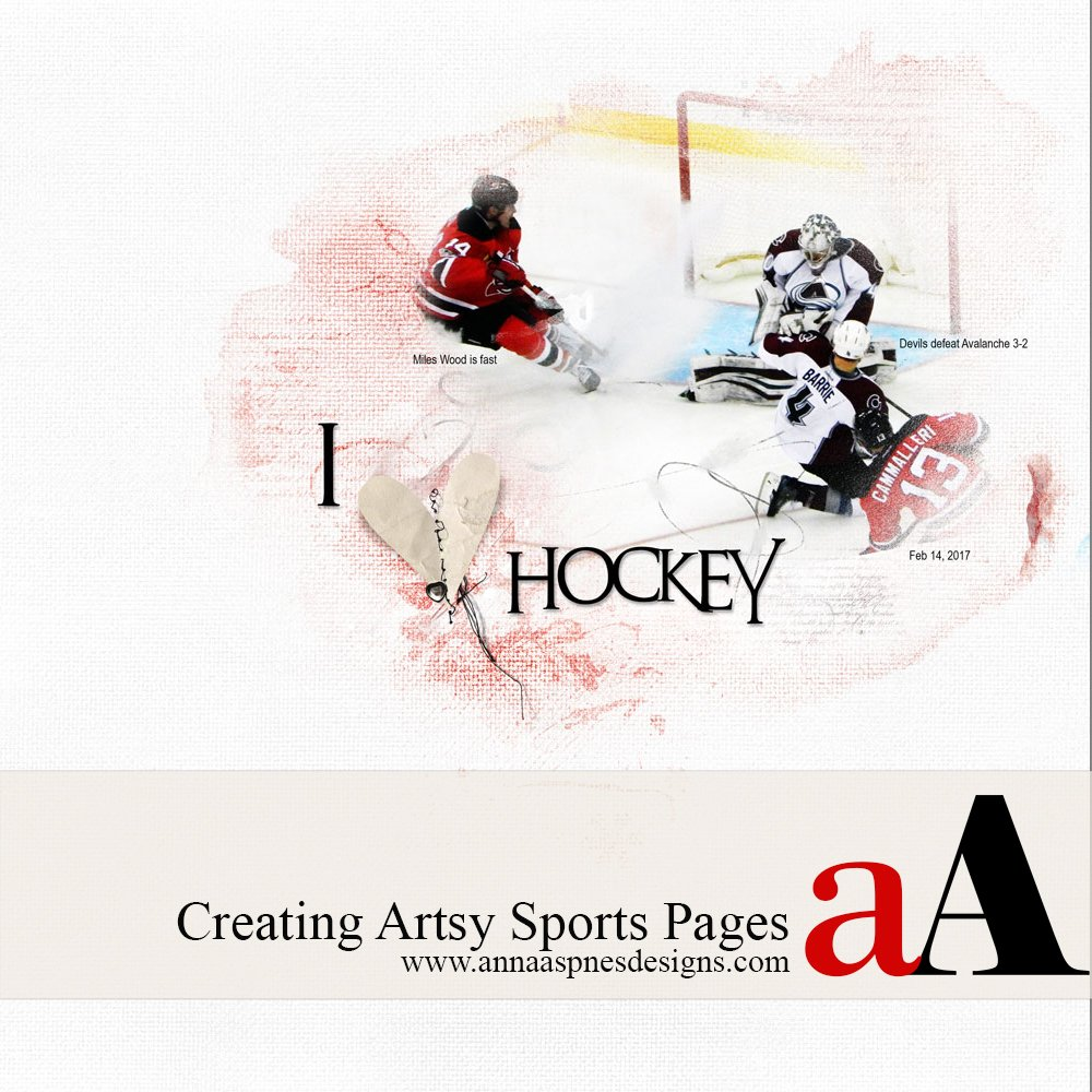 Creating Artsy Sports Pages