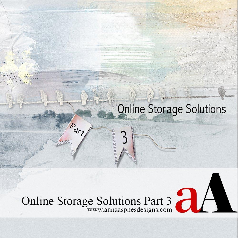 Online Storage Solutions Part 3