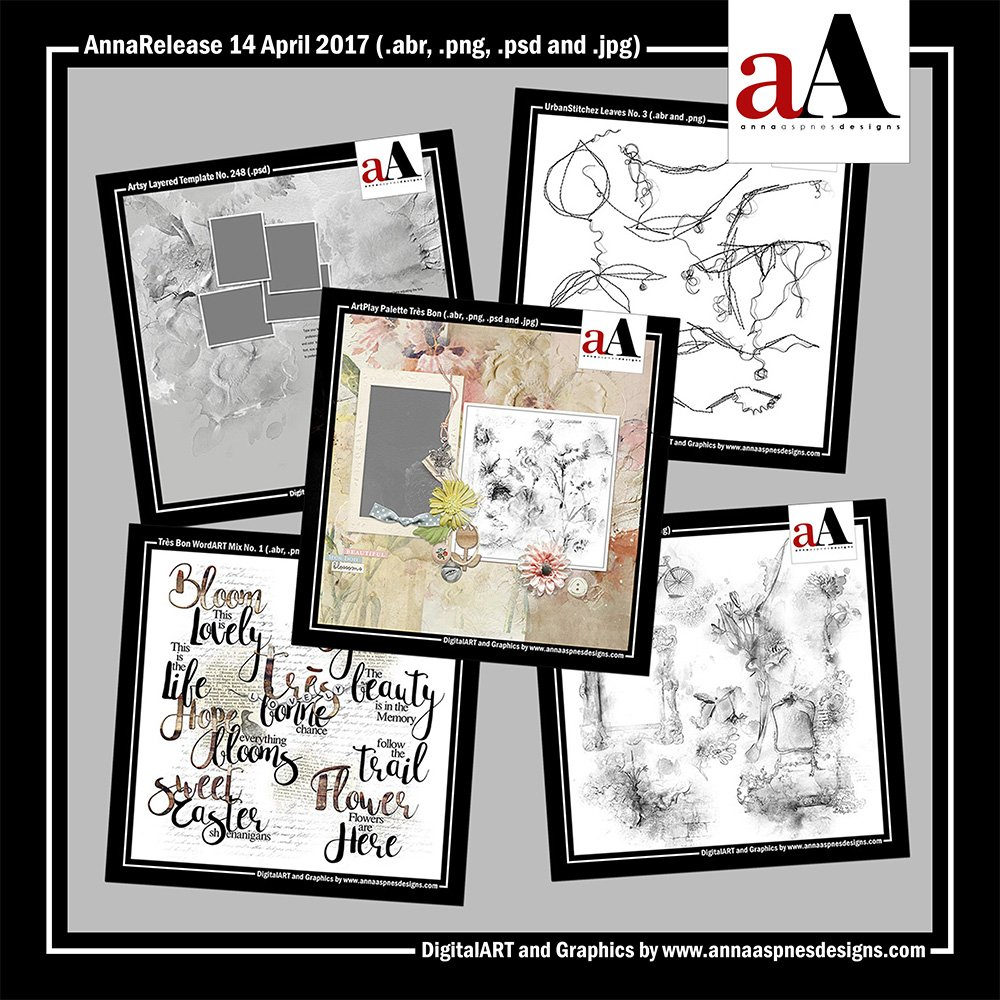 New Artsy Digital Designs Tres Bon