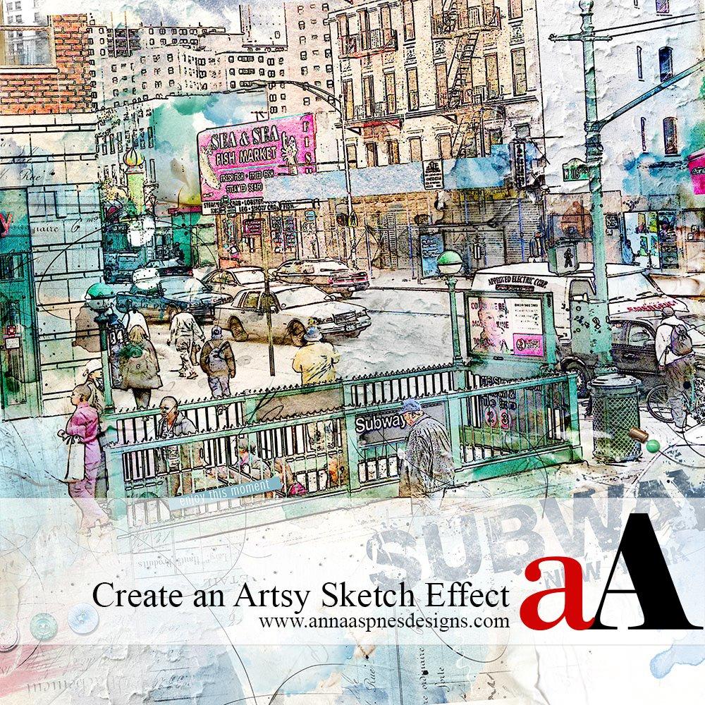Create an Artsy Sketch Effect