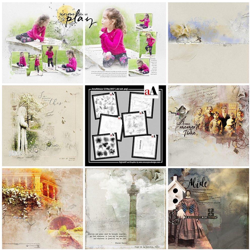 Digital Designs Inspiration BrushSets Bundle