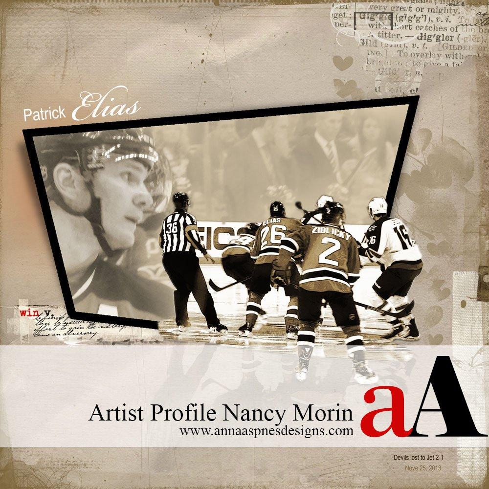 Q & A Artist Profile Nancy Morin