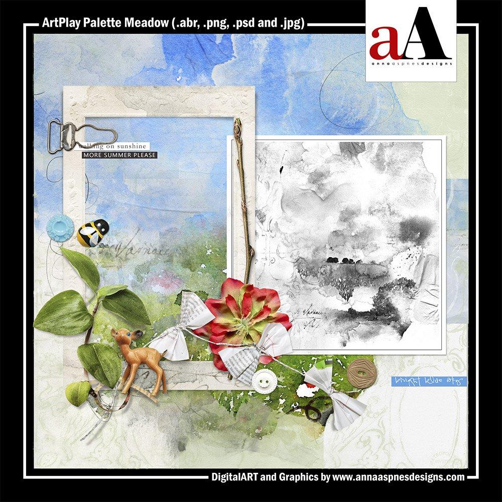 New Artsy Digital Designs Meadow