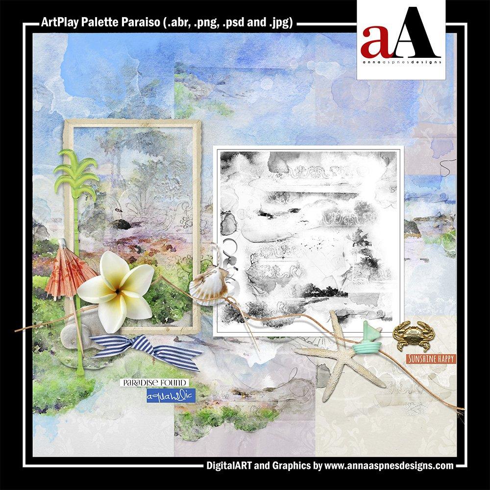 New Artsy Digital Designs Paraiso