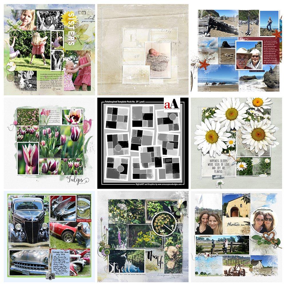 Digital Designs FotoInspired Template Pack