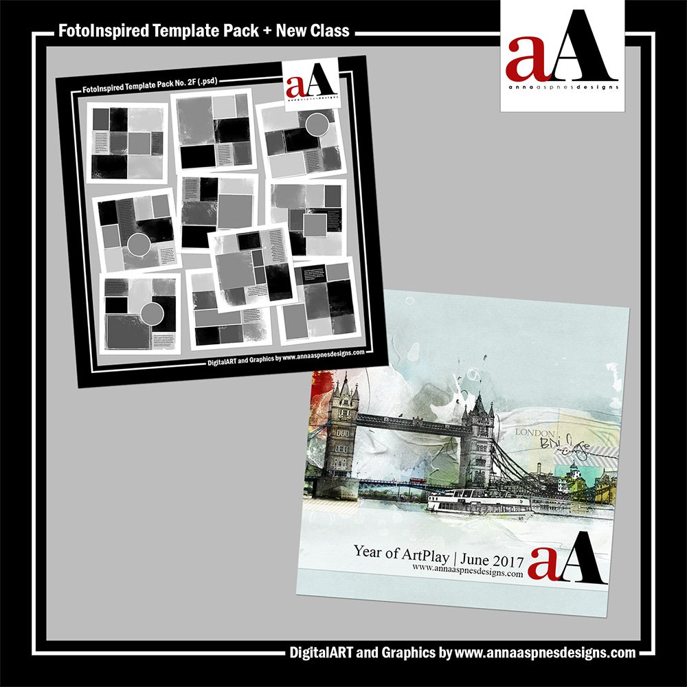 FotoInspired Template Pack and New Class