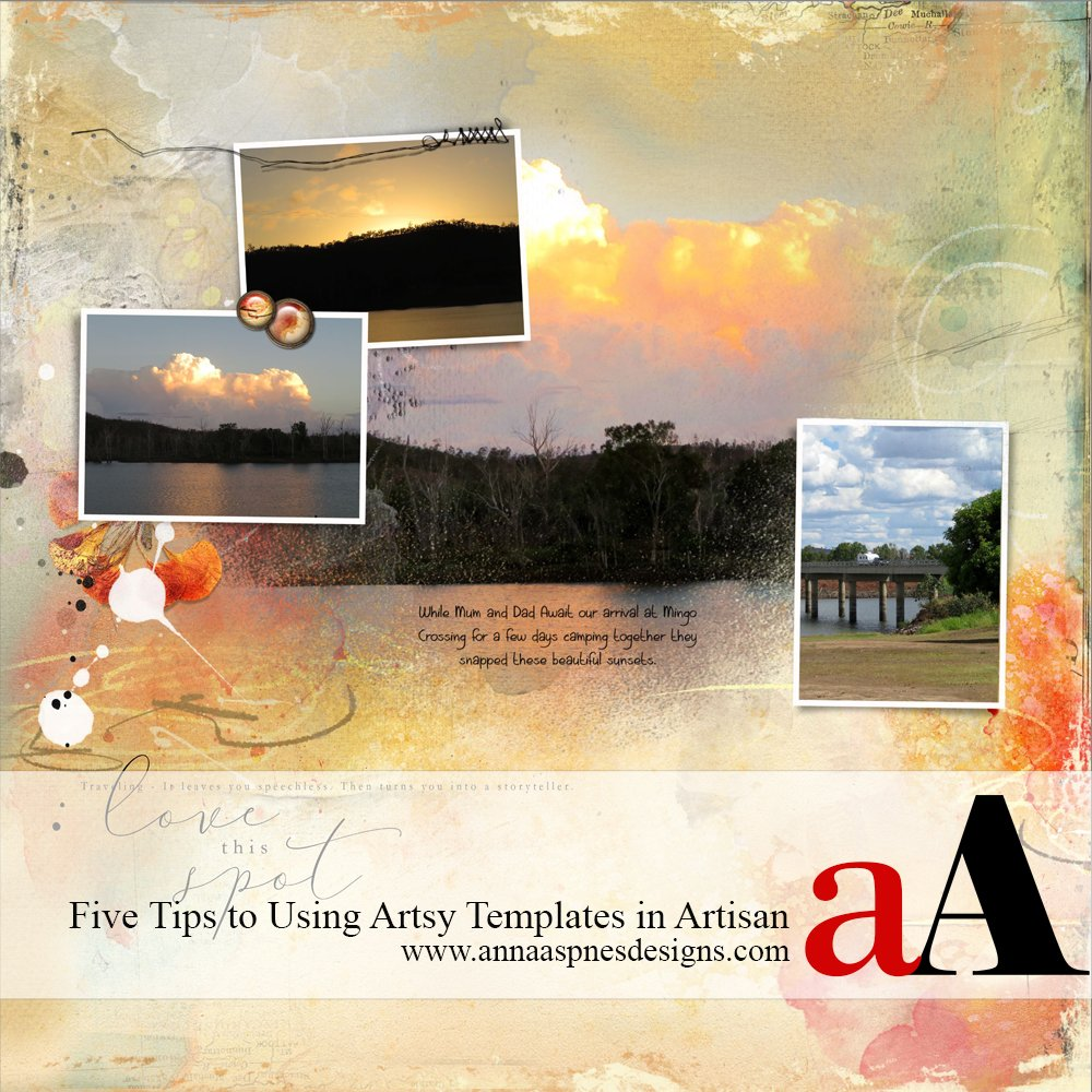 How to Use Artsy Templates in Artisan Software