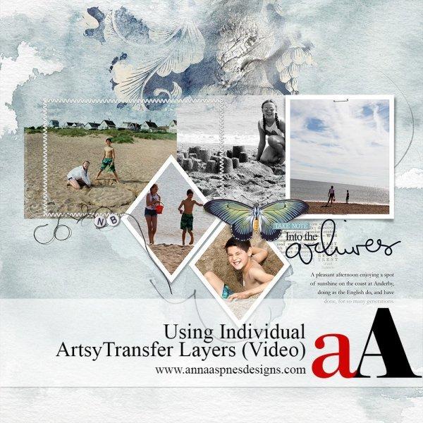 FotoInspired Using Individual ArtsyTransfer Layers