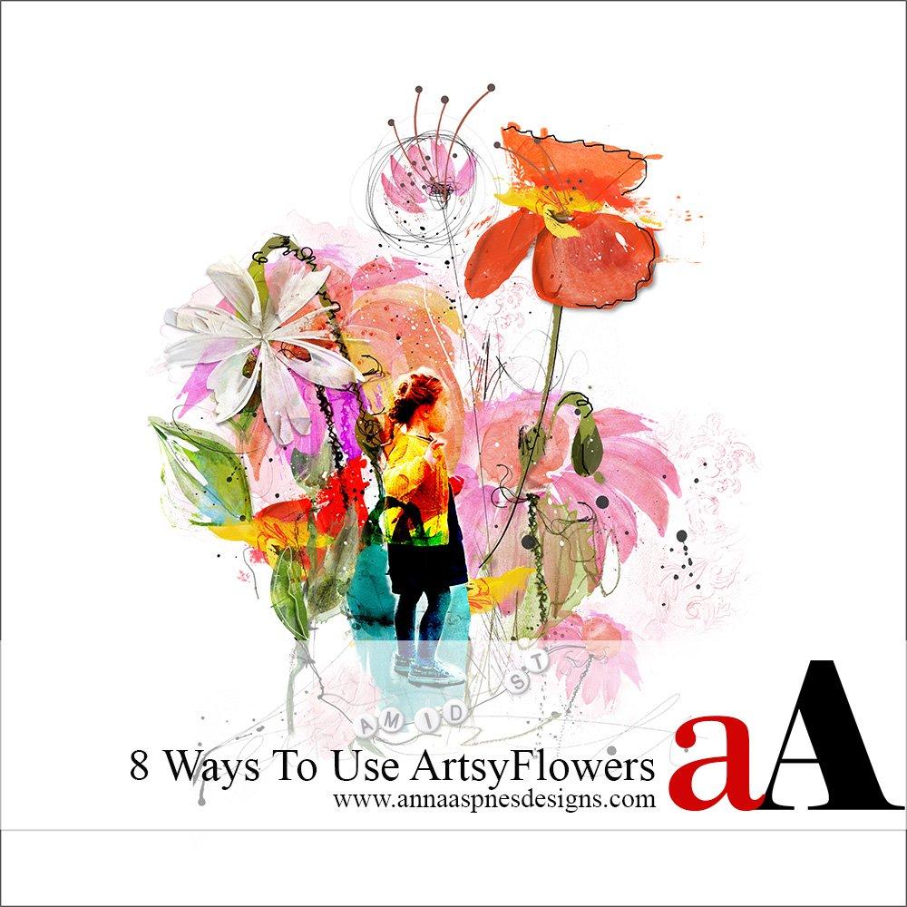 8 Ways to Use ArtsyFlowers