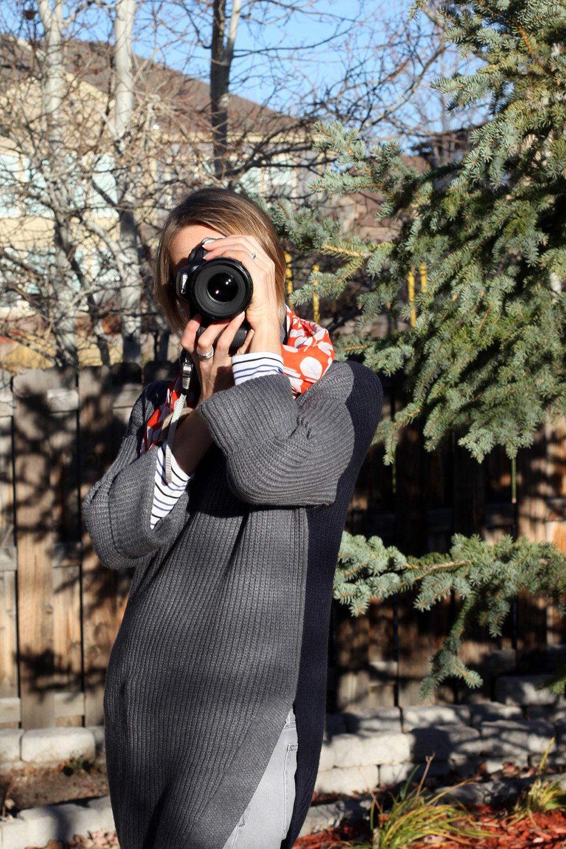 Bluebird Chic Camera Scarf Straps