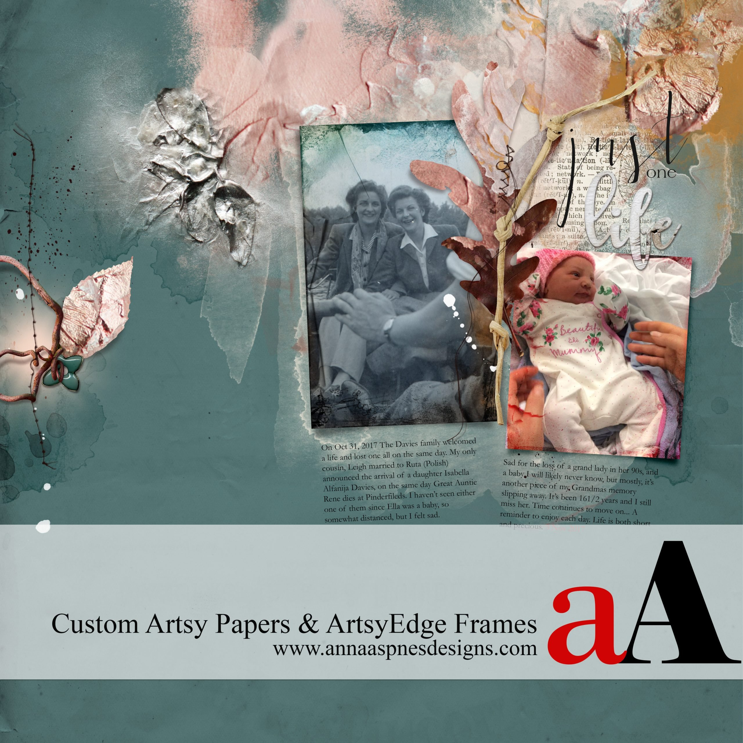 Custom Papers and ArtsyEdge Frames Video