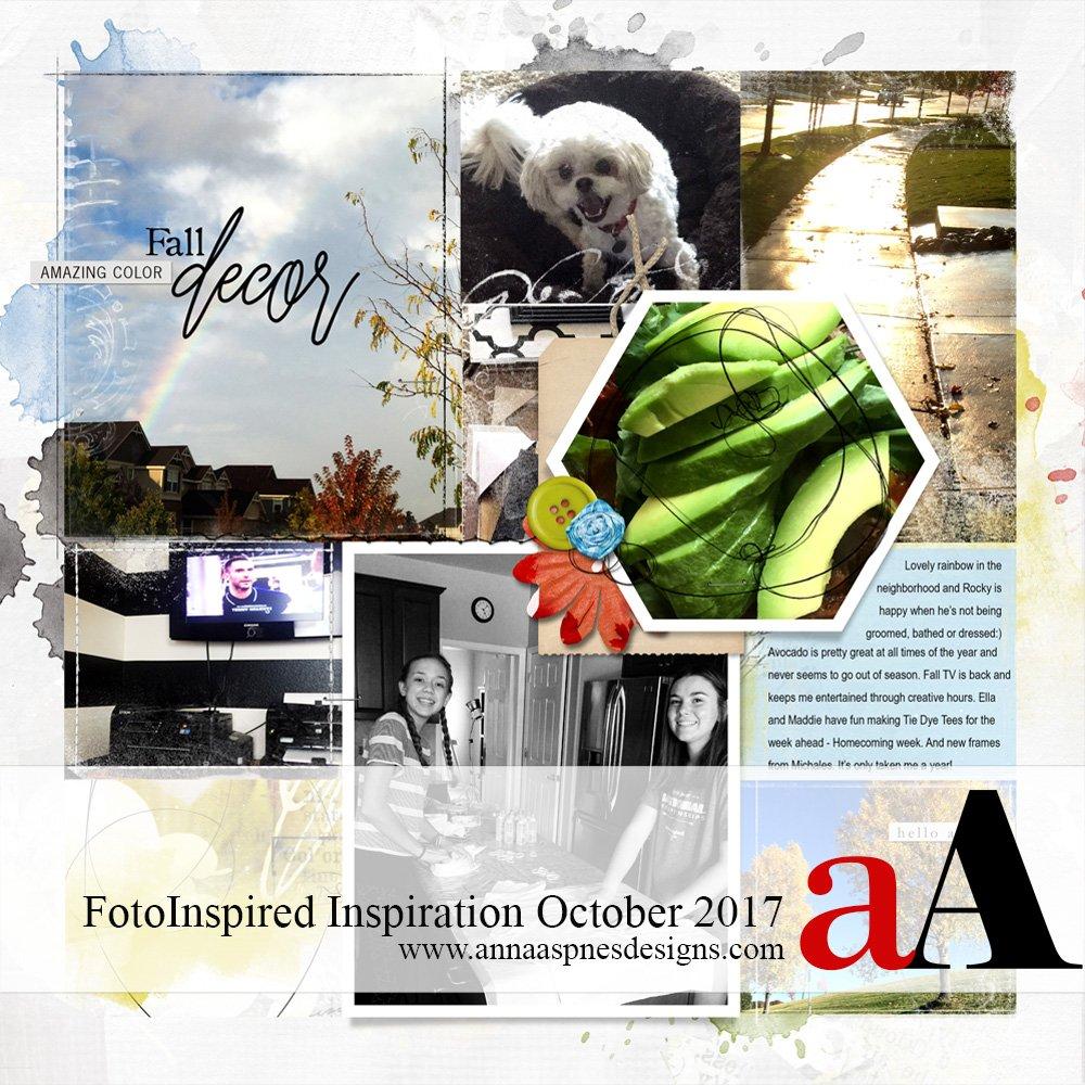 FotoInspired Inspiration October 2017