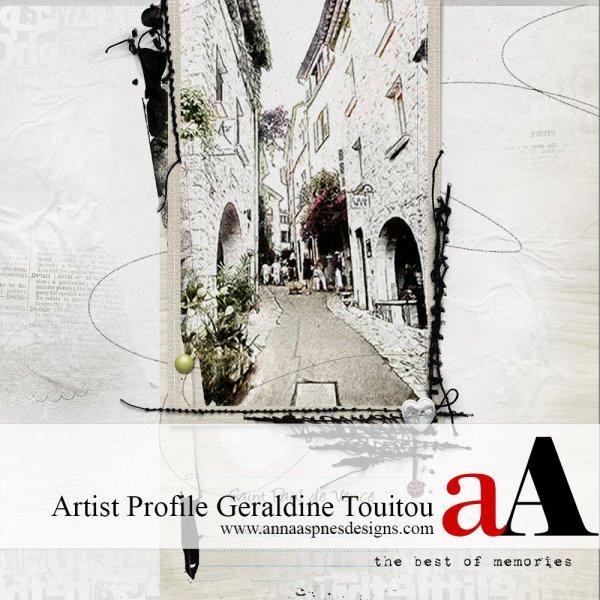 Artist Profile Geraldine Touitou