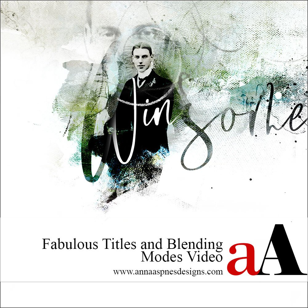 Fabulous Titles and Blending Modes Video