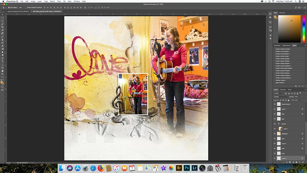 Layout Remakes With Artsy Templates