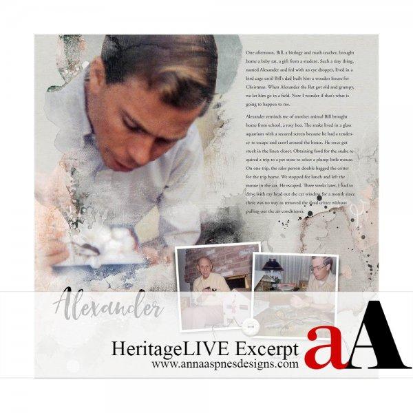 HeritageLIVE Excerpt