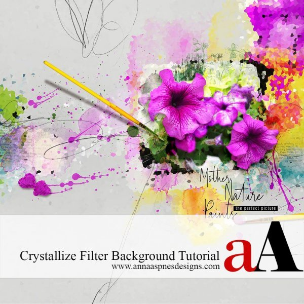 Crystallize Filter Background Tutorial