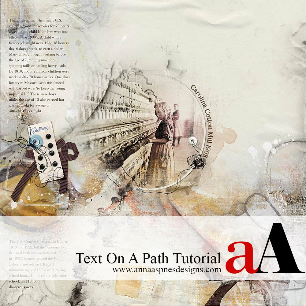 Text On A Path Tutorial