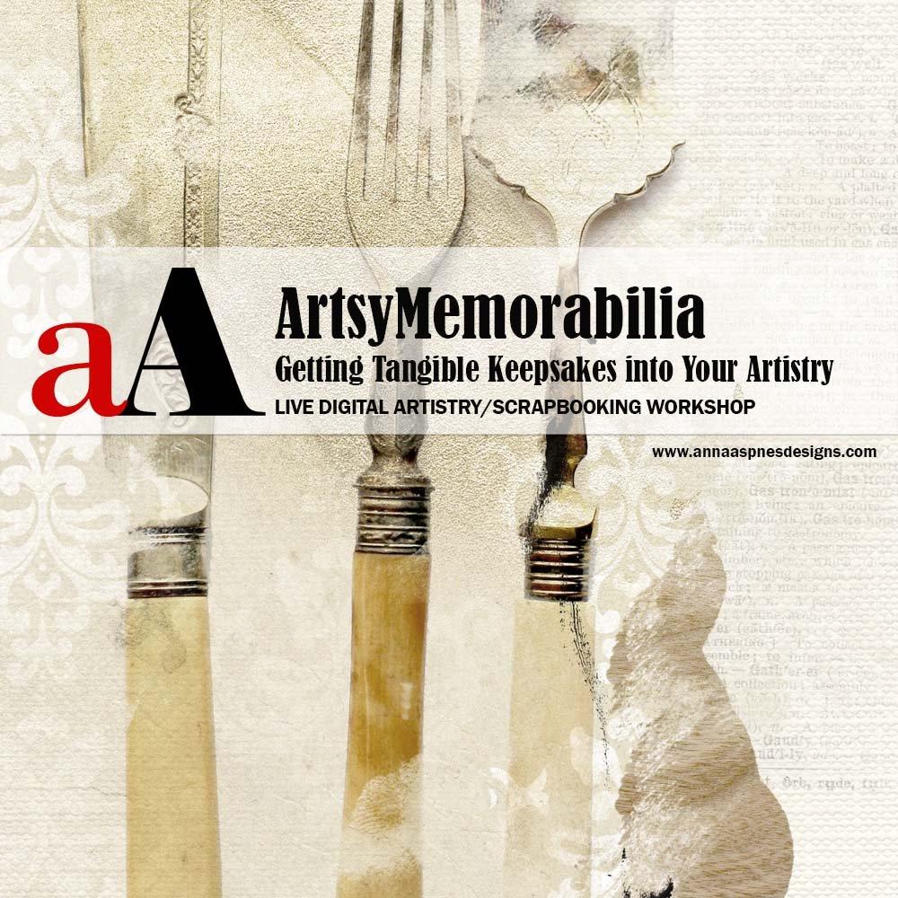 New ArtsyMemorabilia LIVE Class